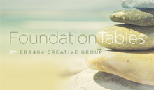 FoundationTables, by ERA404 Creative Group
