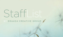 Stafflist, by ERA404 Creative Group